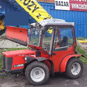 CARRARO TigreTrac 4400 HST wheel tractor