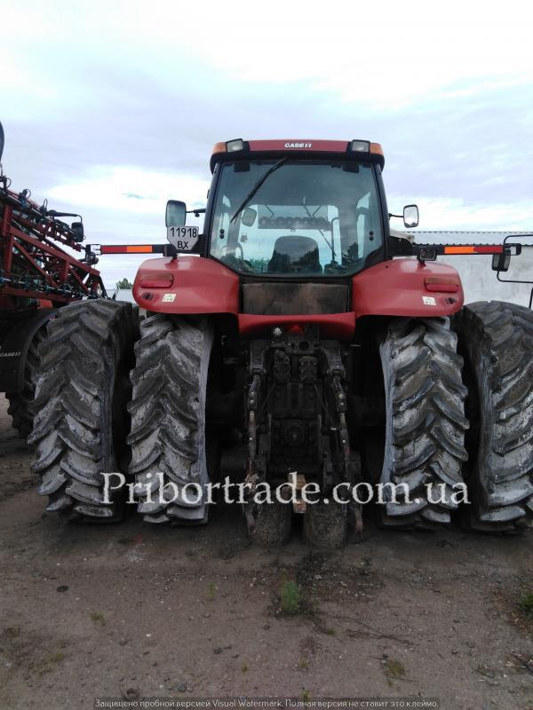 CASE IH MAGNUM MX 310 №387 wheel tractor