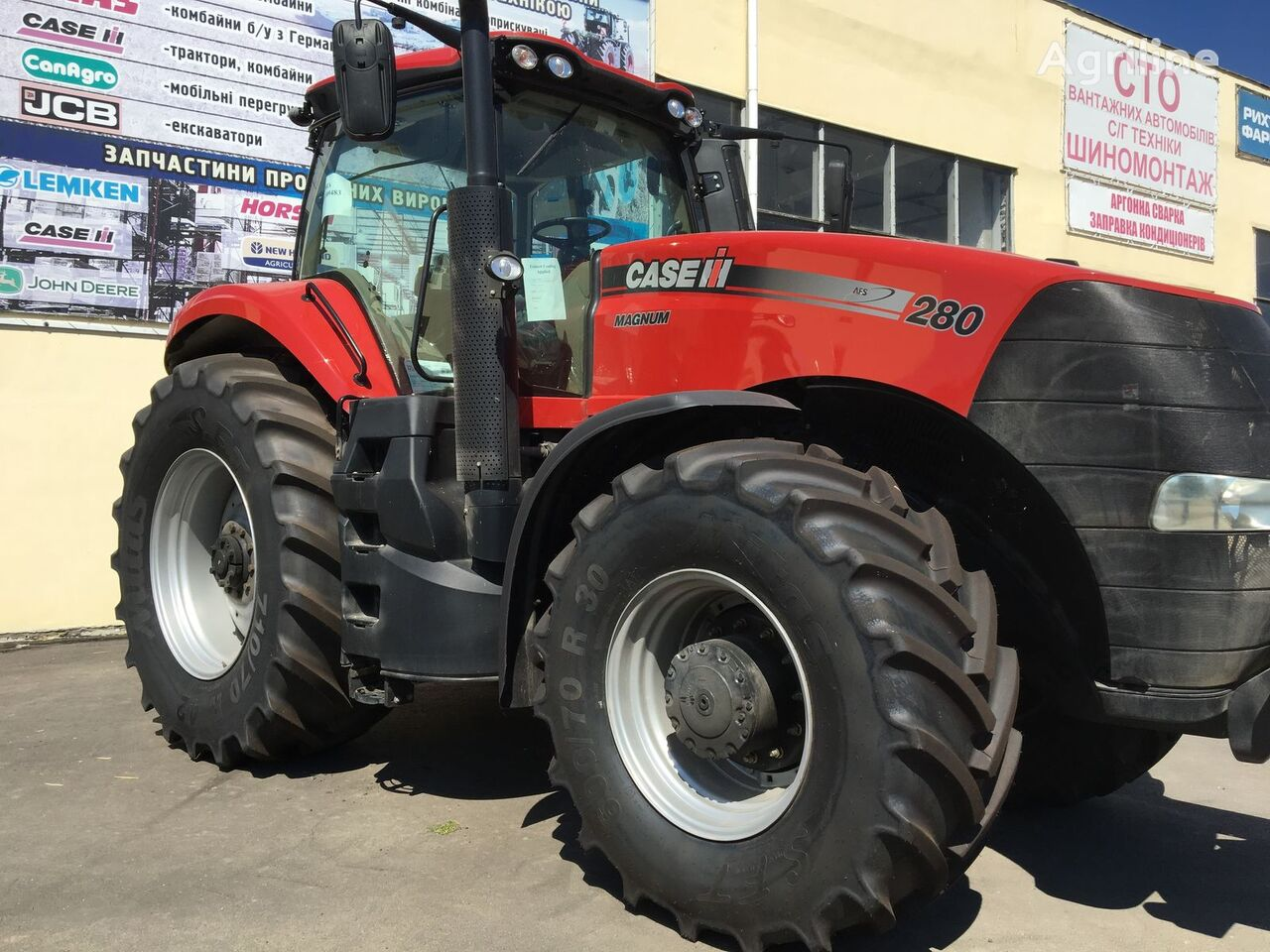 CASE IH Magnum 280 wheel tractors for sale, wheeled tractor, four-wheel  tractor from Ukraine, buy wheel tractor, GW9794