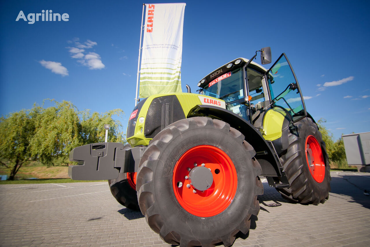 new CLAAS AXION 820 wheel tractor