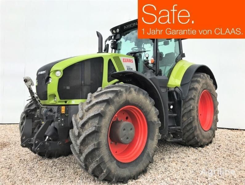 CLAAS AXION 930 CMATIC wheel tractor