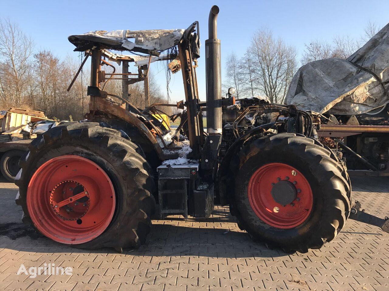 damaged CLAAS Arion 550 Merlo John Deere wheel tractor