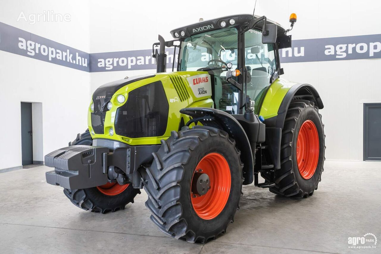 CLAAS  Axion 800 CIS (2828 hours) Hexashift 24/24 40 km/h, front axle  wheel tractor