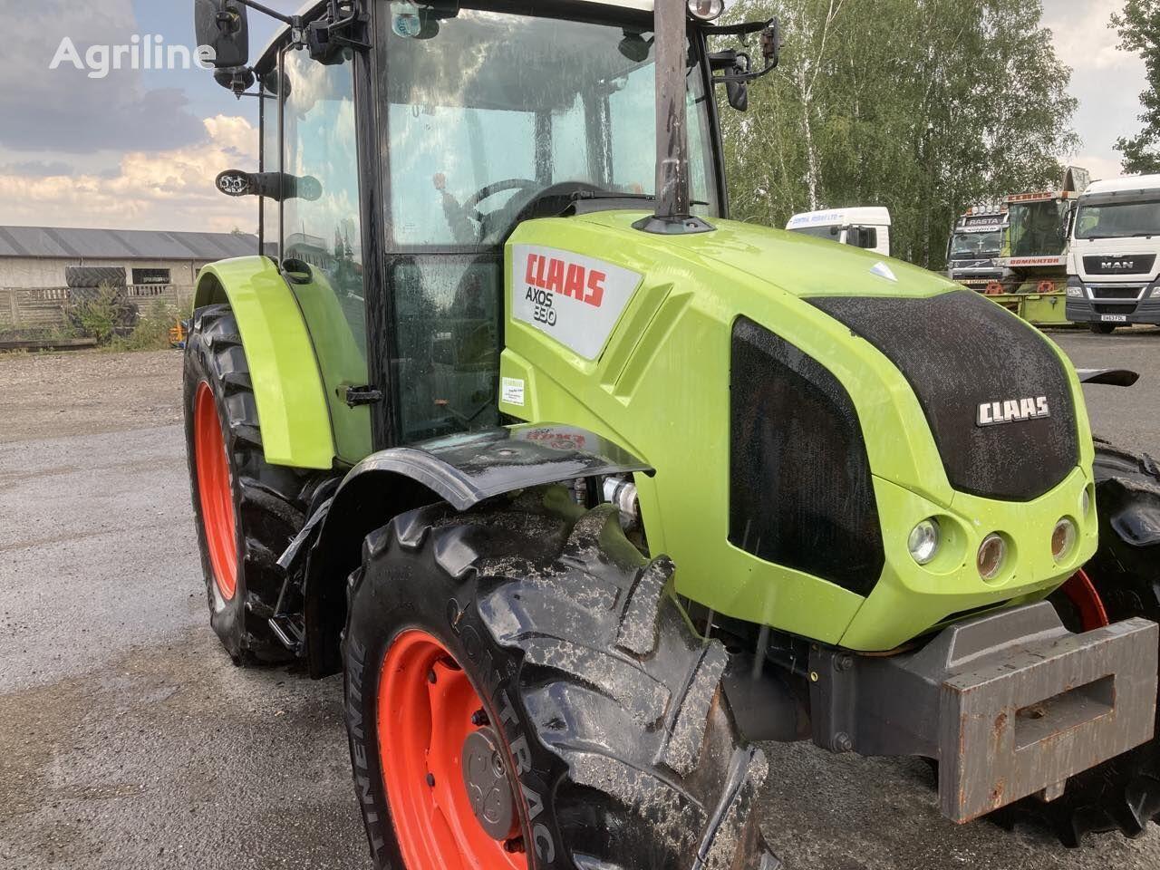 CLAAS Axos 330 wheel tractor