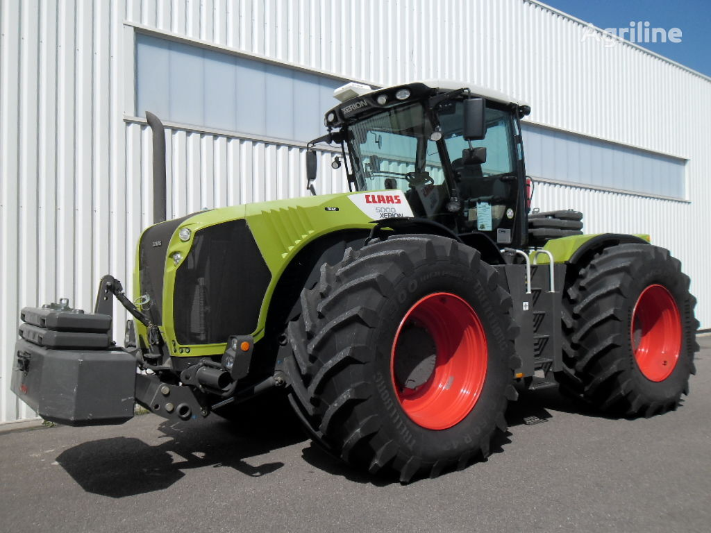 Lieblings CLAAS XERION 5000 TRAC wheel tractors for sale, wheeled tractor #AB_04