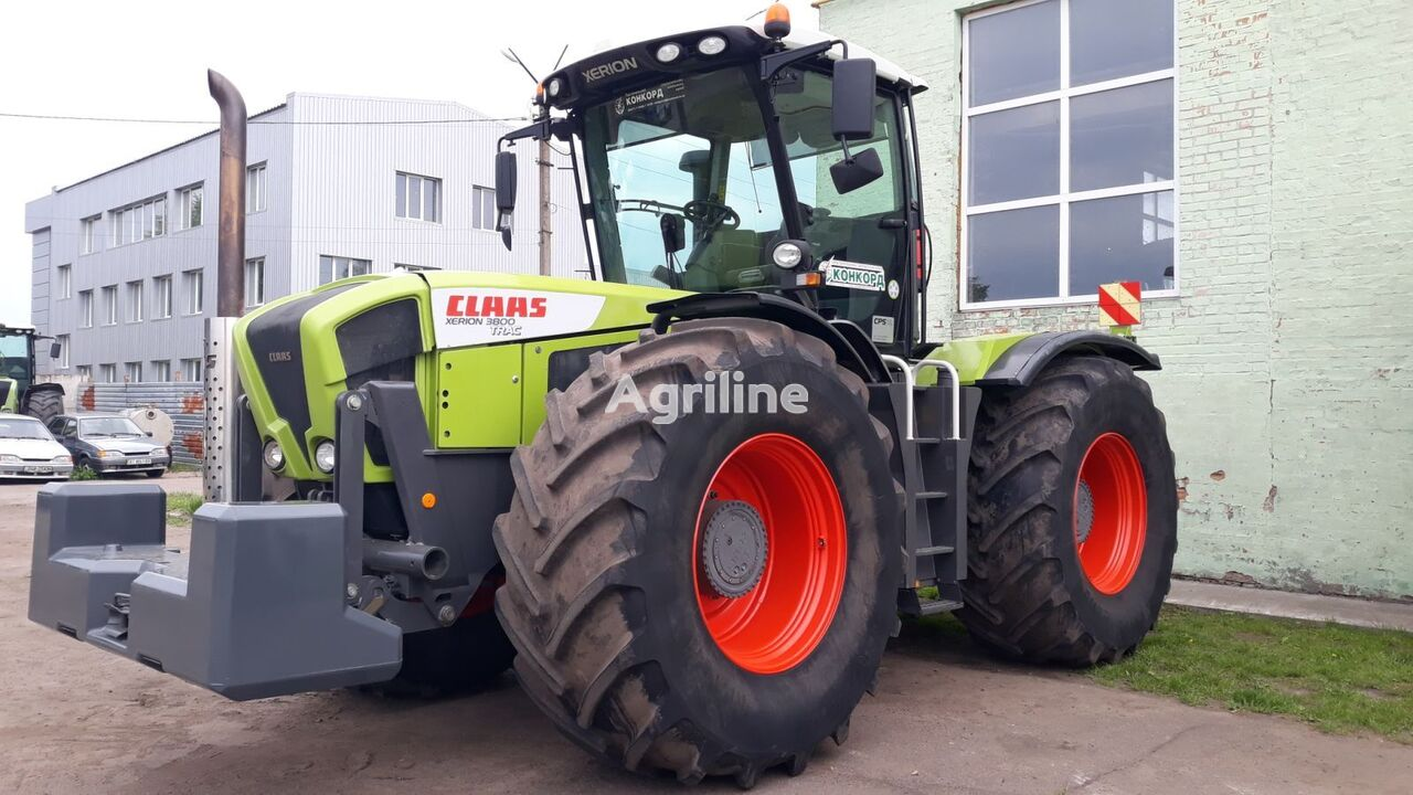 CLAAS Xerion 3800 Trac ( v lizing) wheel tractor