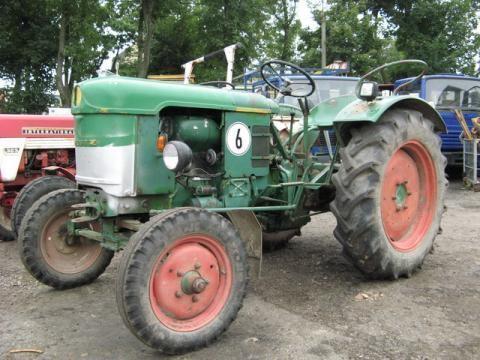 DEUTZ-FAHR D 25 S-N wheel tractor