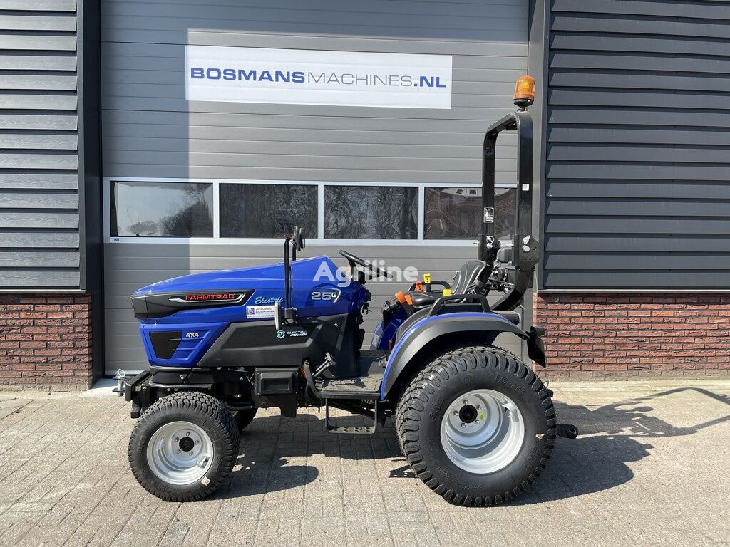 new FARMTRAC FT25G minitractor NIEUW ELECTRISCH wheel tractor