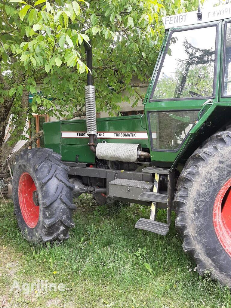 FENDT 612 wheel tractor