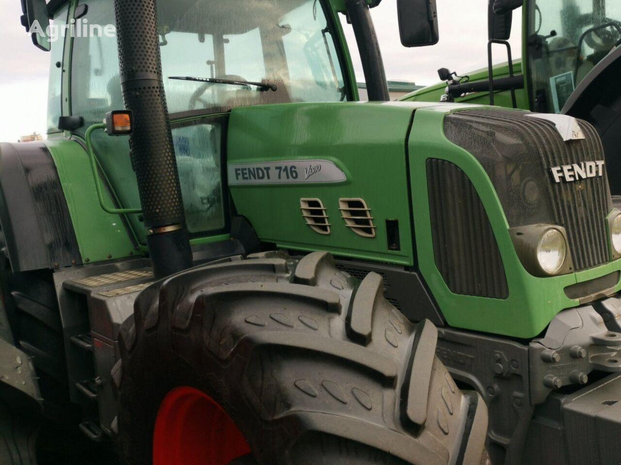 FENDT 716 Vario wheel tractor