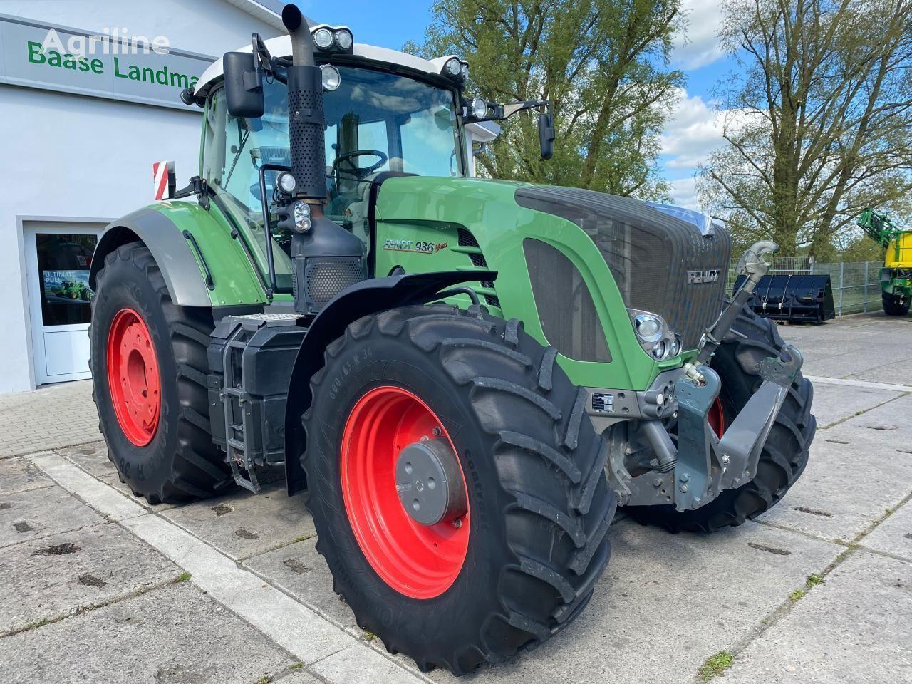 FENDT 936 Vario ProfiPlus wheel tractor