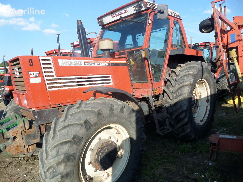 FIAT 140-90 2 sztuki wheel tractor