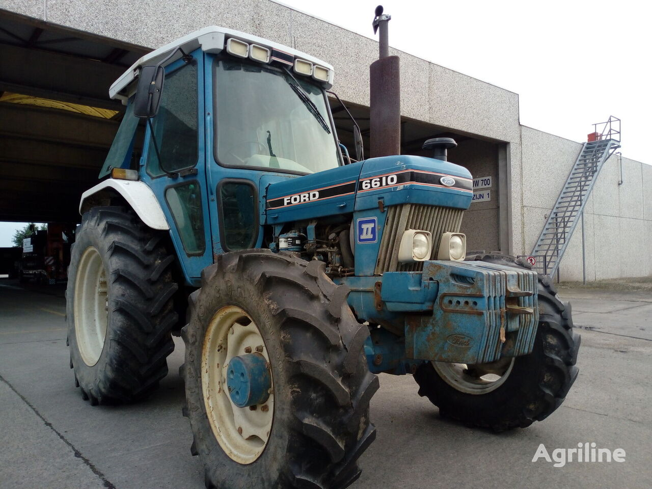 FORD 6610 wheel tractor