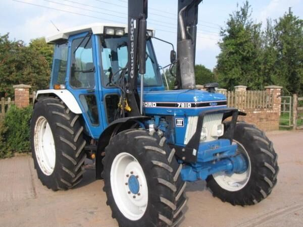 FORD 7810  wheel tractor