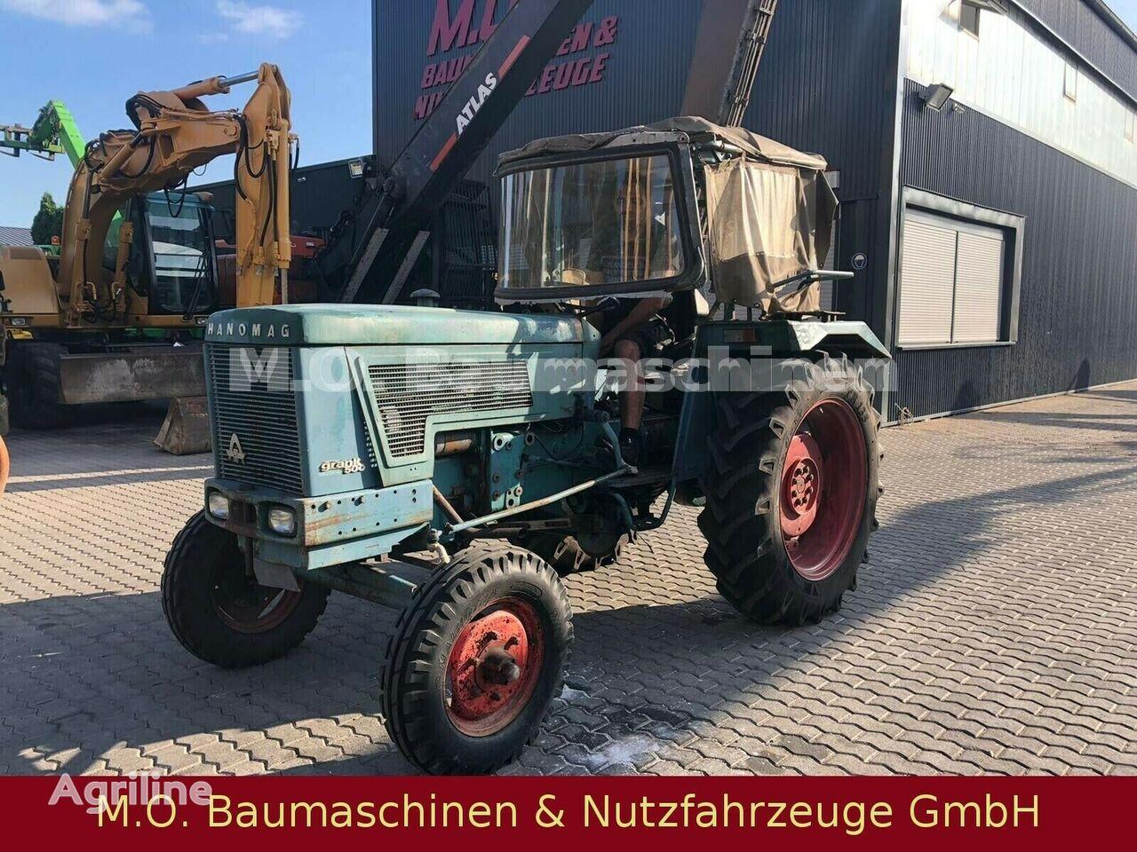 HANOMAG Granit 501 wheel tractor
