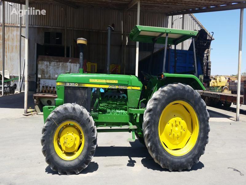 JOHN DEERE 3350 DT wheel tractor
