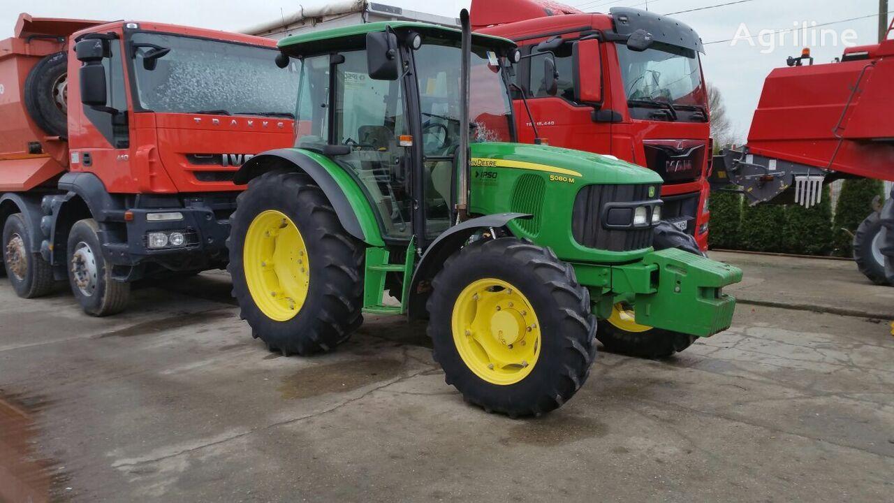 JOHN DEERE 5080 M wheel tractor