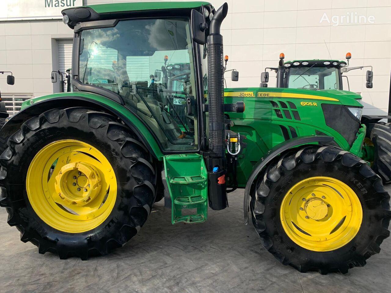 JOHN DEERE 6105R wheel tractor