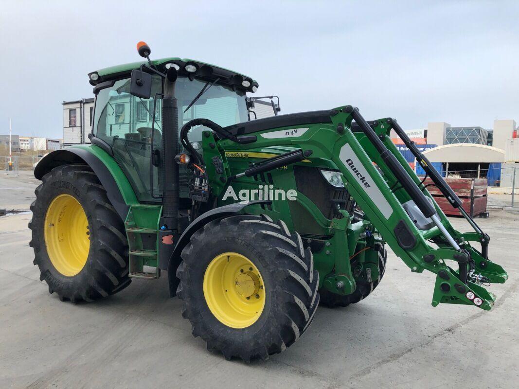 JOHN DEERE 6115R wheel tractor