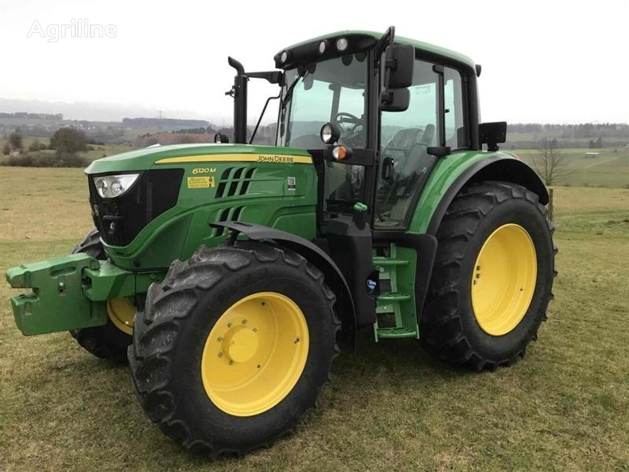 JOHN DEERE 6120M CQ Eco Shift wheel tractor