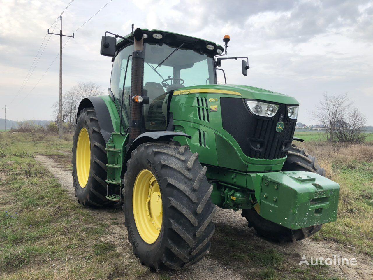 JOHN DEERE 6170 R wheel tractor