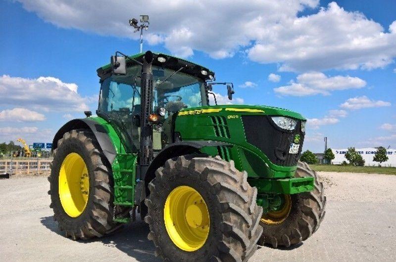 JOHN DEERE 6190R wheel tractor