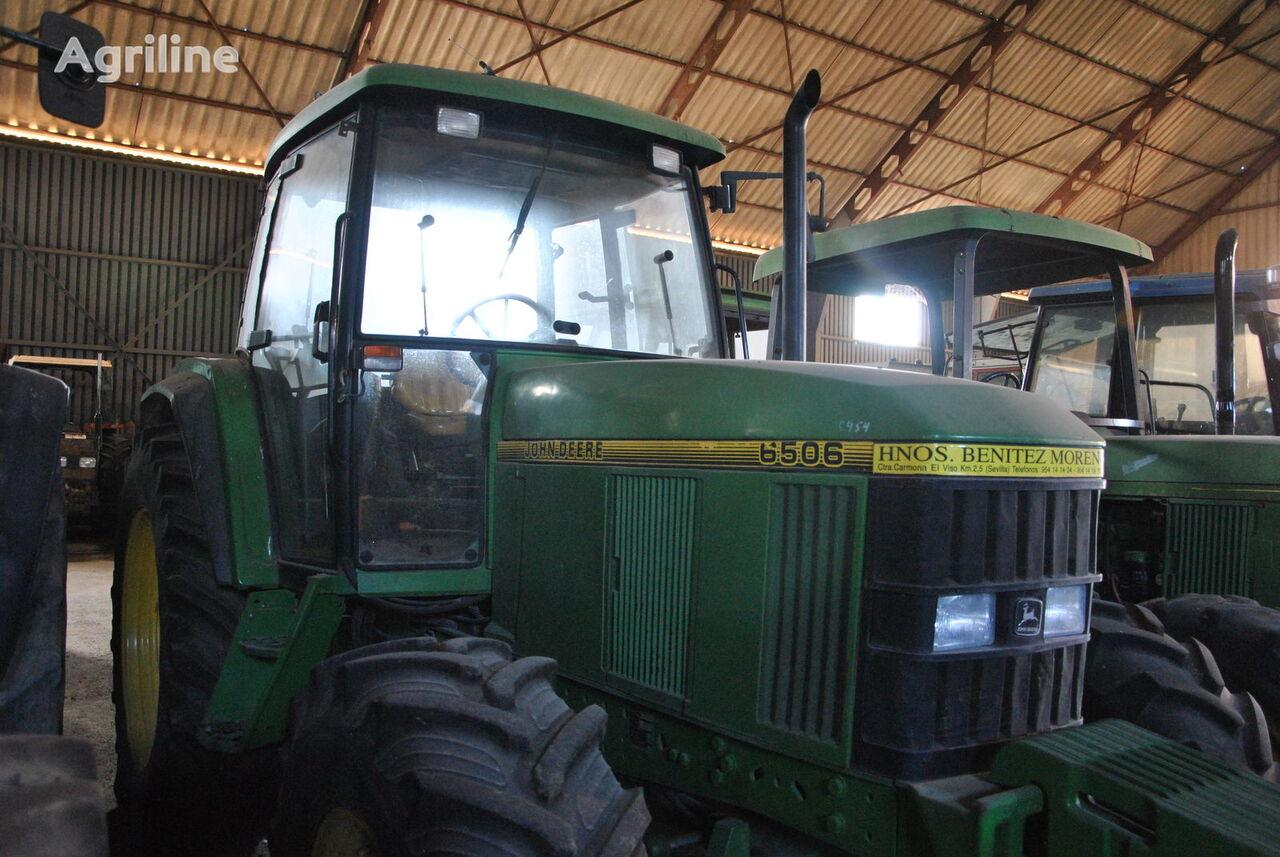 JOHN DEERE 6506 wheel tractor