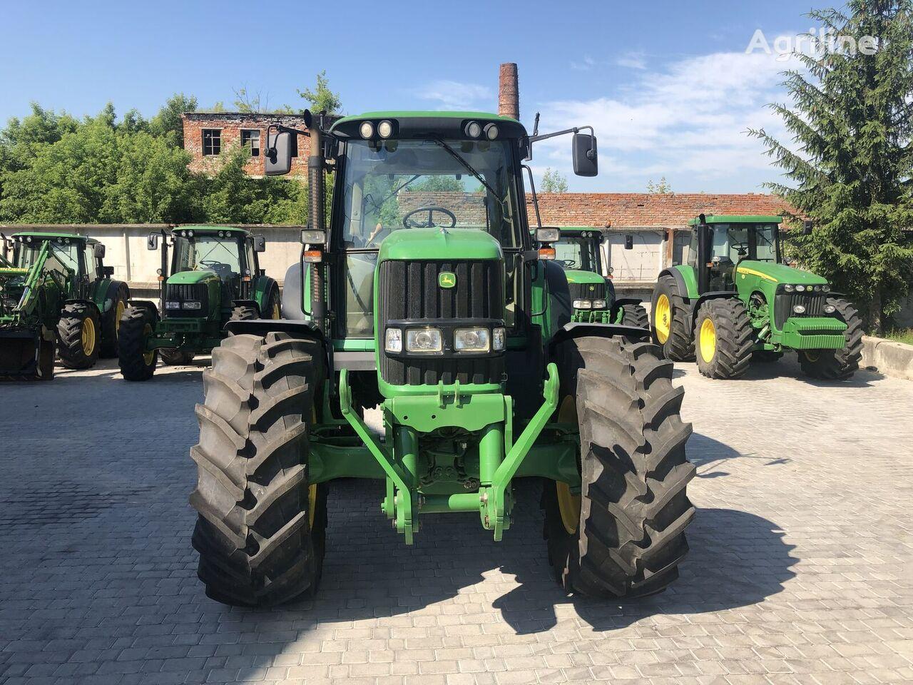 JOHN DEERE 6830.6930 V Nayavnosti wheel tractor