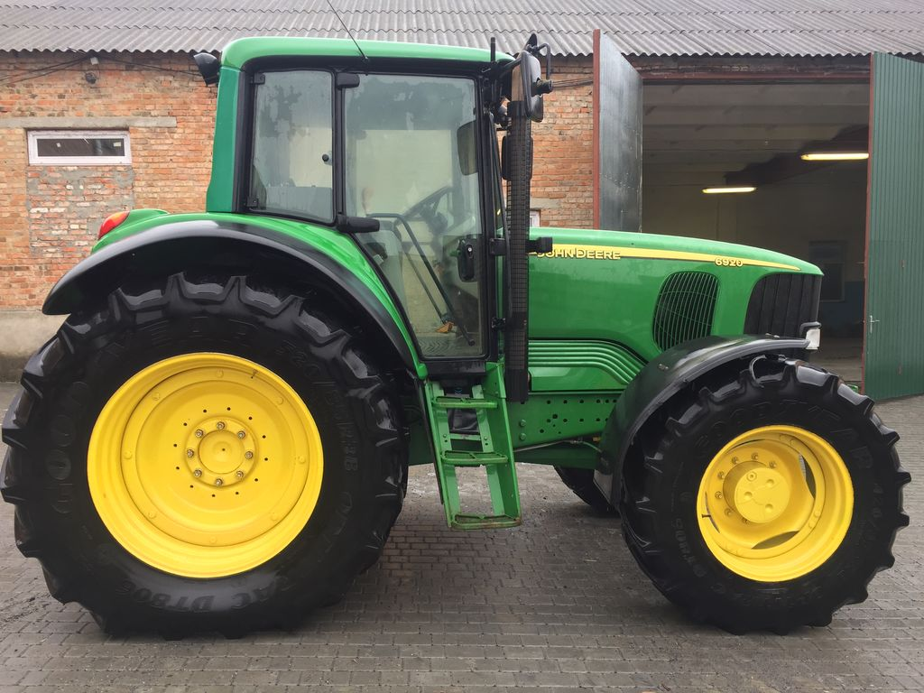 Gemeinsame JOHN DEERE 6920 wheel tractors for sale, wheeled tractor, four @SG_52