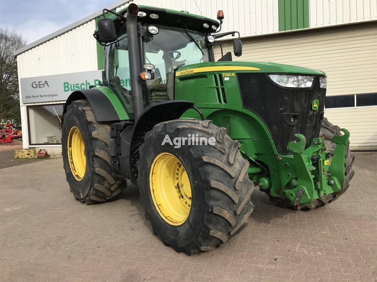 JOHN DEERE 7290R wheel tractor