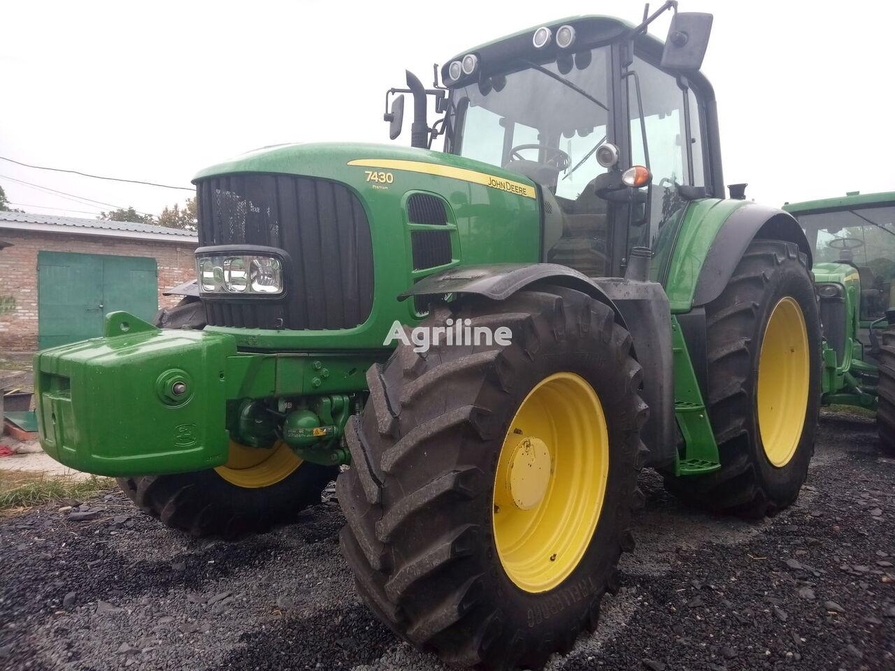 JOHN DEERE 7430.7530 Premium wheel tractor