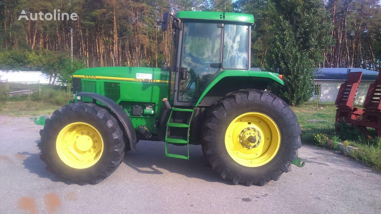 JOHN DEERE 7700+ FRONT LIFT (stoimost s NDS) wheel tractor