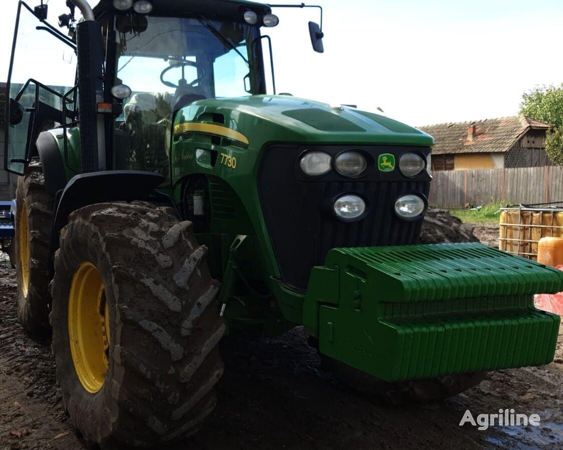 JOHN DEERE 7730 wheel tractor