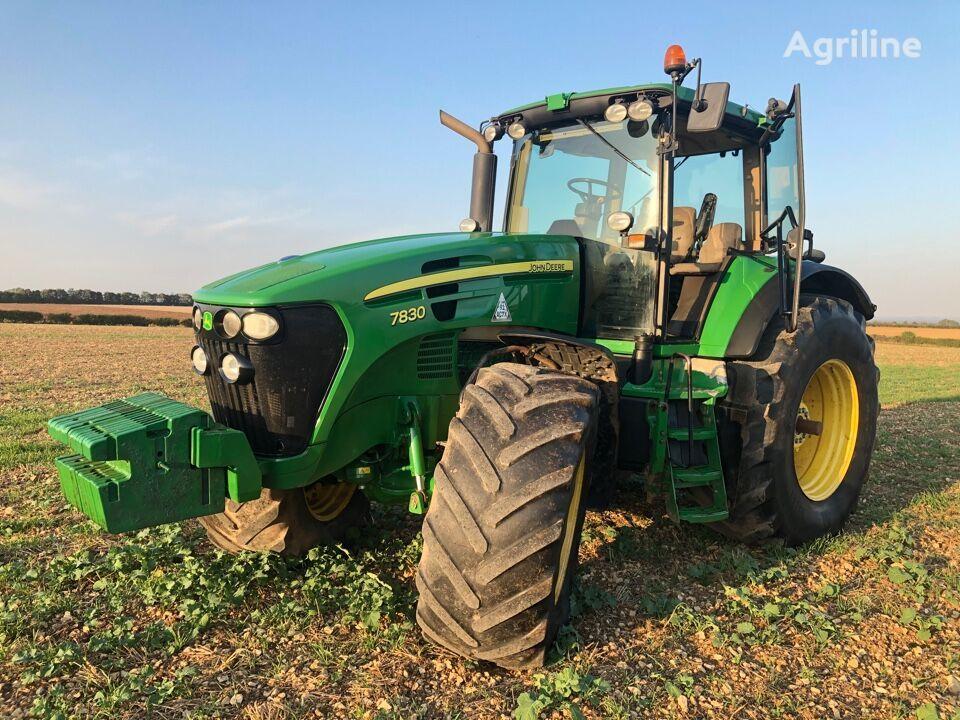 JOHN DEERE 7830 wheel tractor