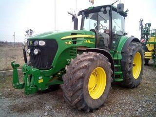 JOHN DEERE 7930 AutoQuad wheel tractor
