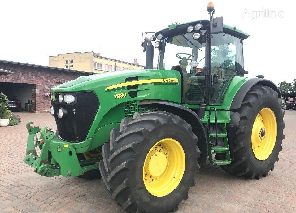 JOHN DEERE 7930 PQ+ wheel tractor