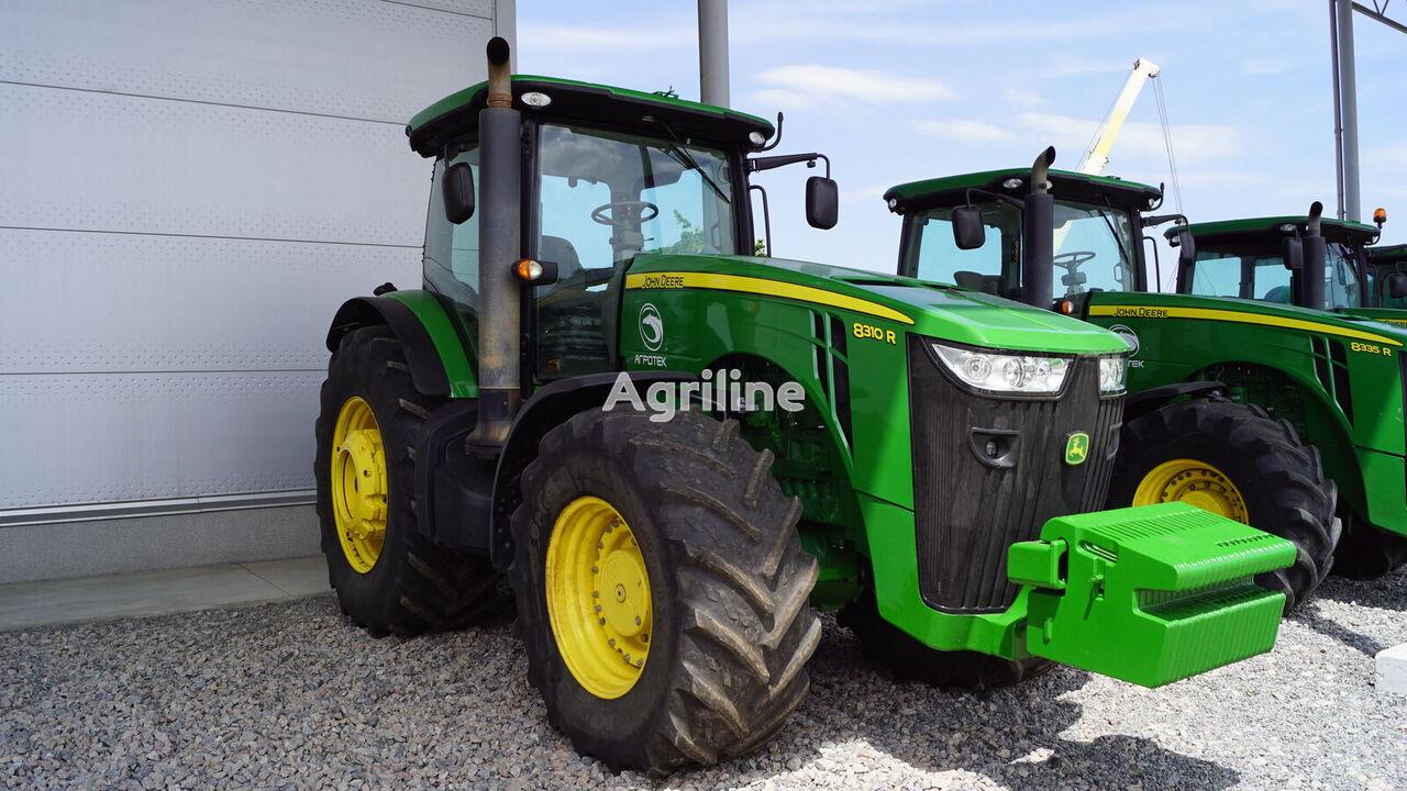JOHN DEERE 8310R wheel tractor