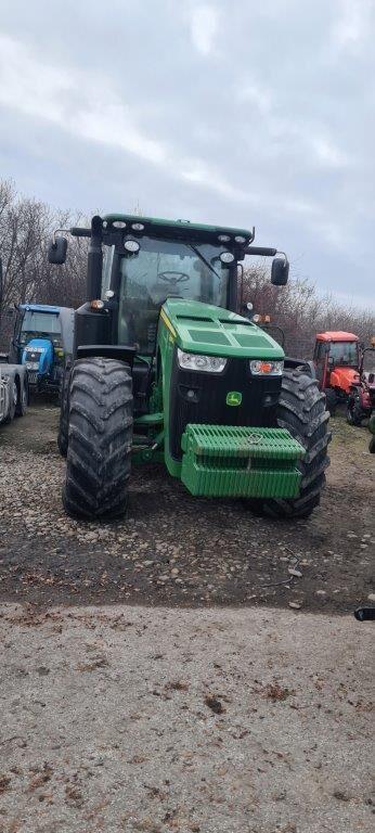JOHN DEERE 8335r ils wheel tractor
