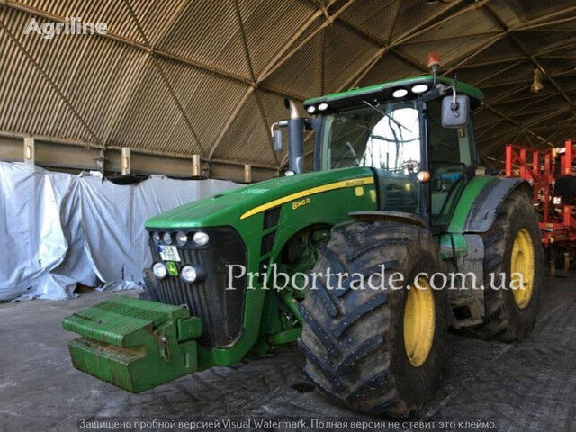 JOHN DEERE 8345R GOOD CONDITION IN USA №208 wheel tractor
