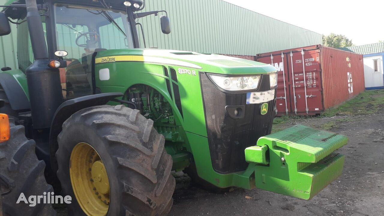 JOHN DEERE 8370 R wheel tractor