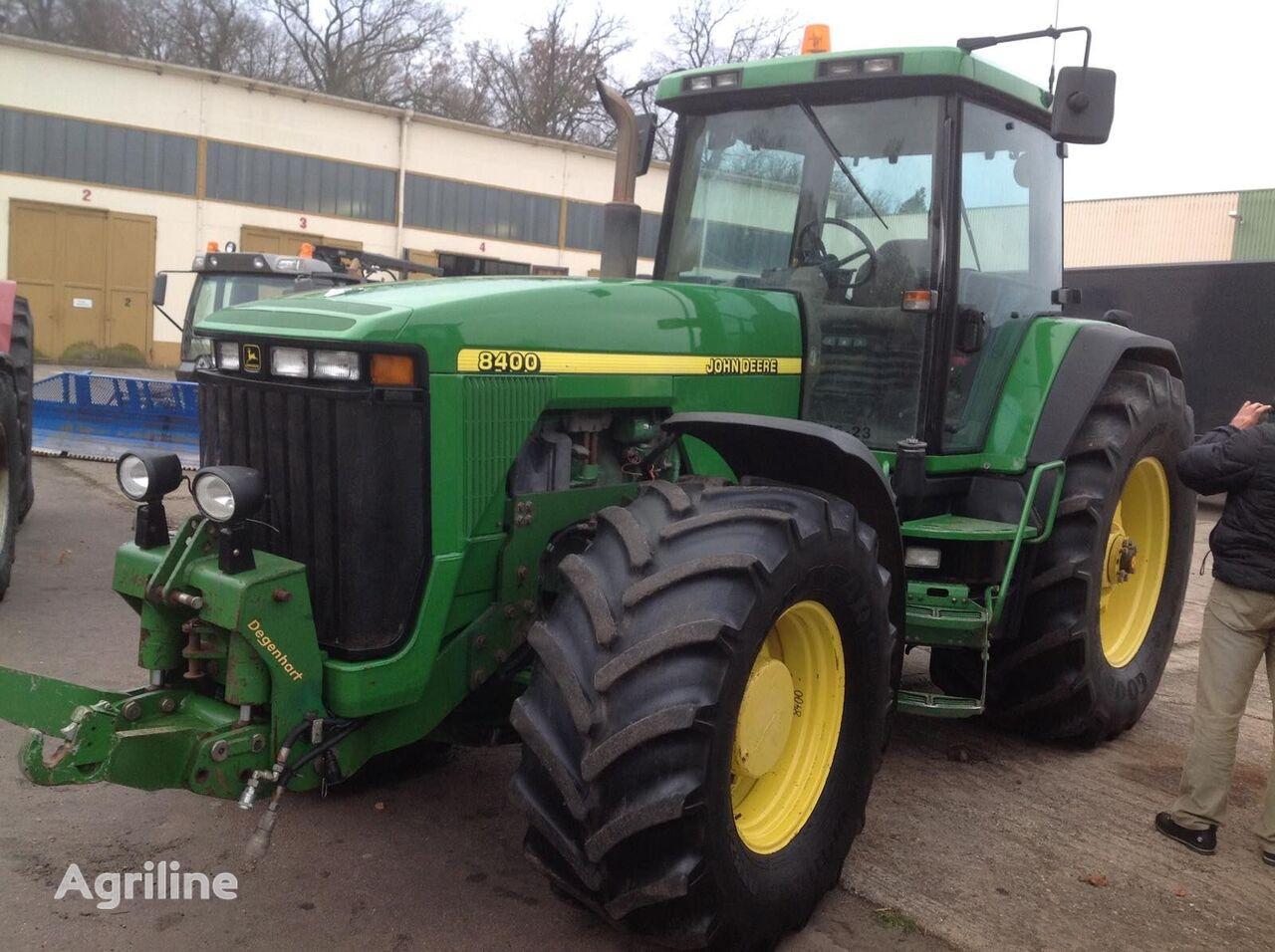 JOHN DEERE 8400, 8300, 8100 v nayavnosti.  wheel tractor