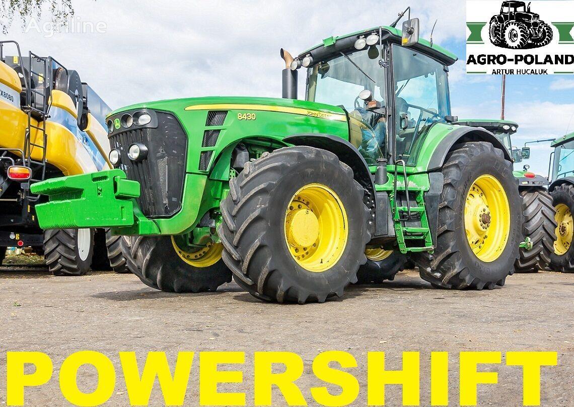JOHN DEERE 8430 POWERSHIFT - 2008 ROK wheel tractor