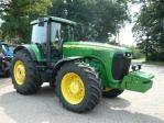 JOHN DEERE 8520 wheel tractor
