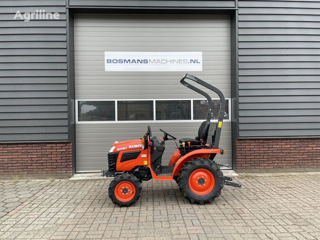 new KUBOTA B1161 4WD 16 PK minitractor NIEUW wheel tractor