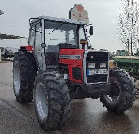 MASSEY FERGUSON 390 DT wheel tractor