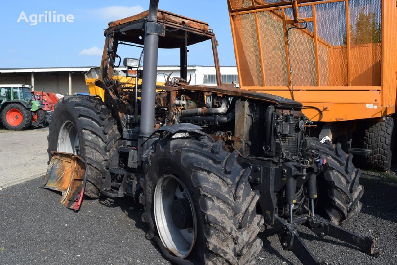 MASSEY FERGUSON 6480 *Brandschaden* wheel tractor