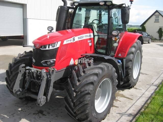 MASSEY FERGUSON 7718 S wheel tractor