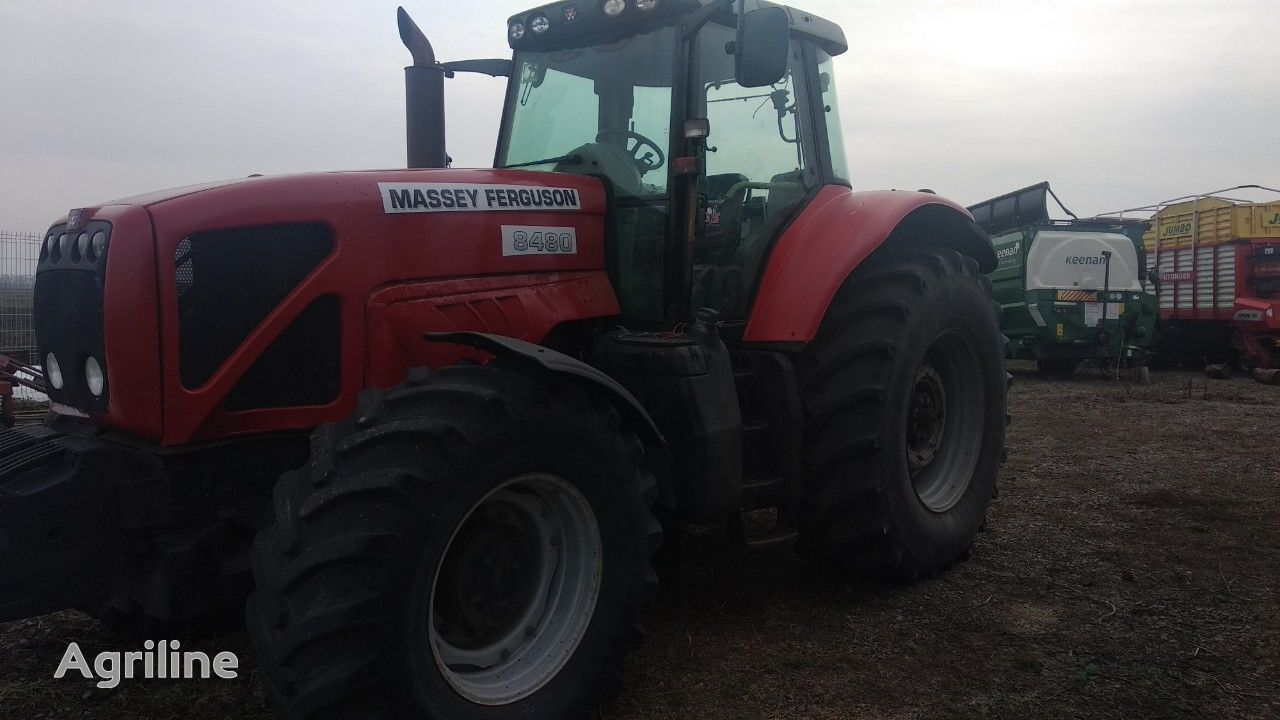 MASSEY FERGUSON 8480 wheel tractor
