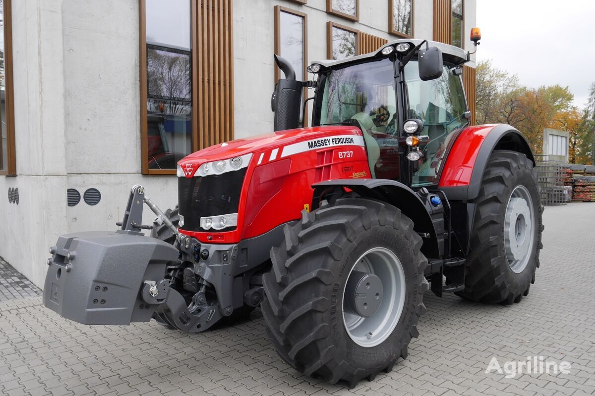 MASSEY FERGUSON 8737 EXCLUSIVE DYNA VT - ALL NEW - DEMO wheel tractor