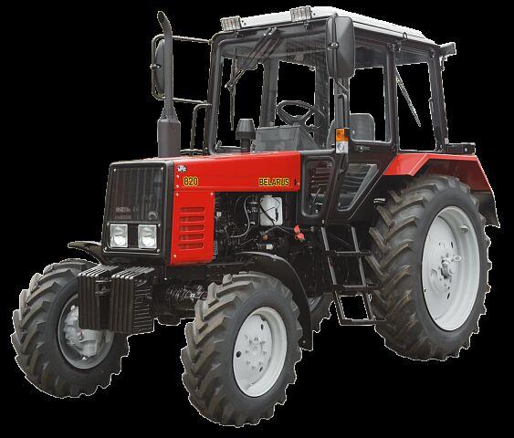 new MTZ 82 wheel tractor